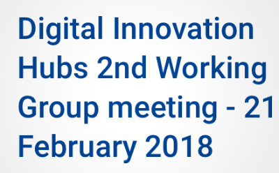Digital Innovation Hubs 2nd Working Group meeting