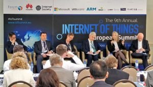 AIOTI Secretary-General participated at the 9th Annual Internet of Things conference, Brussels, 15 May