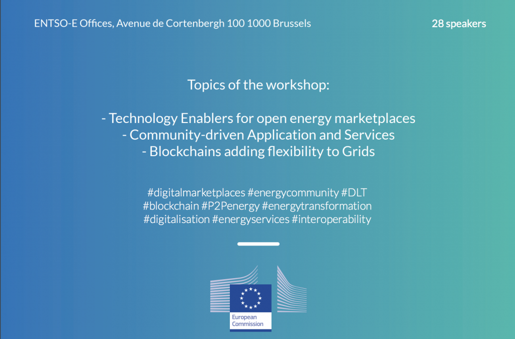 OPEN MARKETPLACES TO SPUR INNOVATIVE ENERGY SERVICES, 22 October, Brussels