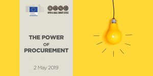 EC Workshop: Releasing the Power of Procurement, 2 May 2019, Brussels