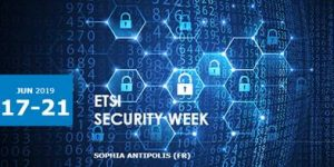 ETSI Security Week, 17-21 June 2019