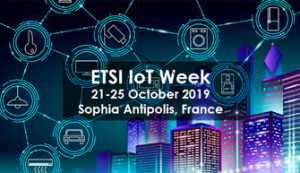 ETSI Week, 21-25 October 2019